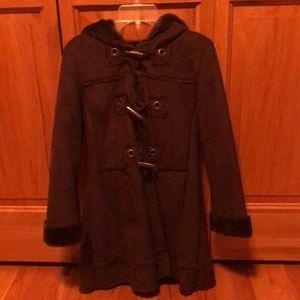 Girls Shearling dress coat